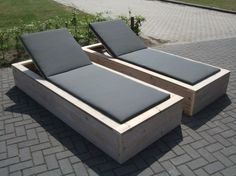 beautiful wooden pallet lounge chair ideas for your patio - Pallet Furniture Project Outdoor Lounge, Outdoor Seating, Outdoor Spaces, Outdoor Living, Outdoor Decor, Outdoor Furniture Plans, Diy Garden Furniture, Pallet Furniture, Rustic Furniture