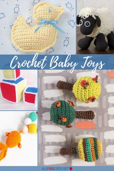 Find animals, educational baby toys, and even nursery decor in this collection of Crochet Baby Toys (the sweetest crochet patterns ever). Homemade Baby Toys, Homemade Gifts, Crochet Baby Toys, Crochet Animals, All Free Crochet, Cute Crochet, Educational Baby Toys, Having A Baby, Mom And Baby