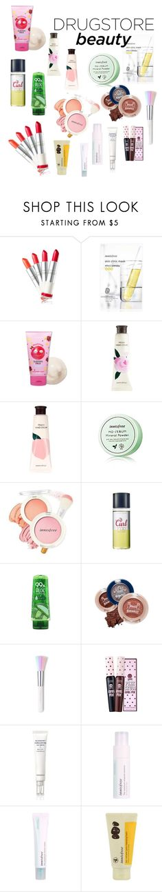 """kr cheap make up"" by indahnovianaa ❤ liked on Polyvore featuring beauty, Innisfree and Therapy"