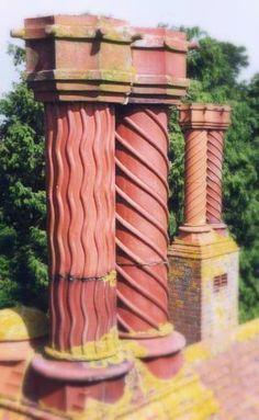 British chimney pots.