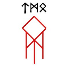 Discover recipes, home ideas, style inspiration and other ideas to try. Odin Norse Mythology, Norse Runes, Futhark Runes, Viking Runes, Rune Tattoo, Norse Tattoo, Viking Tattoos, Magic Symbols, Viking Symbols