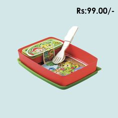 LUNCH CONTAINER SLIM #lunchbox #schoollunchbox #lunchboxfortravel #online #plastic #shopping #grahakji