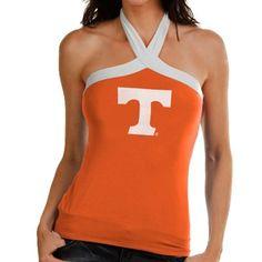 Tennessee Volunteers Women's Open Field Halter Top - Tennessee Orange