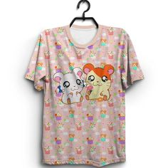 Hamtaro, Vintage Anime, Sims 4 Dresses, Vintage Outfits, Tie Dye, Geek Stuff, Fancy, T Shirts For Women, Casual