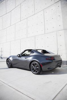 The Mazda MX-5 Miata is absolutely amazing as an everyday car, but the 2017 MX-5 Miata RF adds a little more solidity – to the roof, anyway.