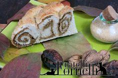 Învârtită cu nucă: #Romanian #walnut #cake. Simple #bread dough spiral filled with #walnuts and #sugar :) - Fratelli ai Fornelli