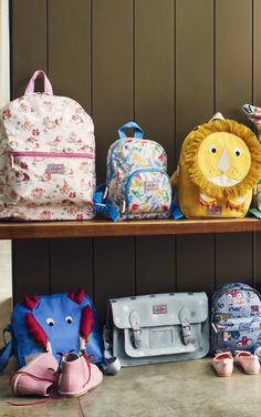 Looking for the perfect bag for your little one's first day back at school? From pretty Fairy and Flower prints to novelty bags like our Lion backpack, they can head back to school in style.