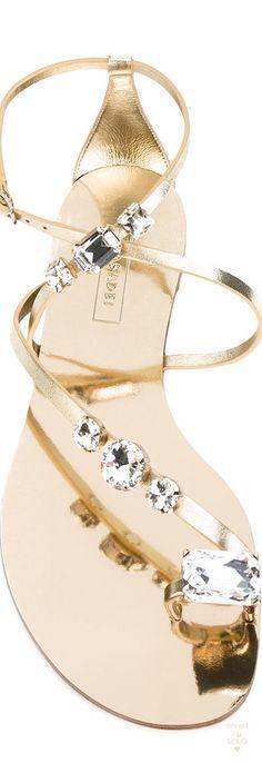 Casadei Embellished Sandal