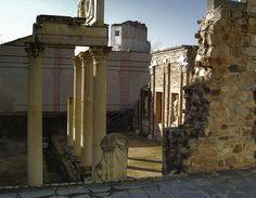 érida, ruinas romanas