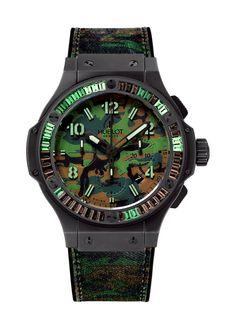 Commando Bang Jungle Carat 44mm Chronograph watch from Hublot