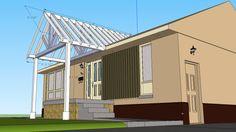Building A Gable End Porch Cover.