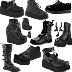 New Demonia stock in at www.ipso-facto.com and our Fullerton, CA store. Visit us to grab these new styles!