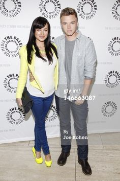 Brett Davern wearing our Trade Shirt on the red carpet Paley Center for Media premiere of his MTV show Awkward