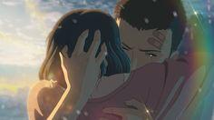 Takao Akizuki & Yukari Yukino - Kotonoha no Niwa / The Garden of Words,Anime Geeks, Anime Couples, Cute Couples, She And Her Cat, Bakemono No Ko, Anime Manga, Anime Art, The Garden Of Words, Words Wallpaper