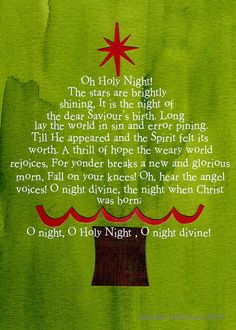 Oh Holy Night Tree by Colorfly Studio, via Flickr