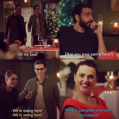 """""""What a complete and utter coincidence"""" - Lena, Kara, Mon-El and Jack #Supergirl (by iabt)"""