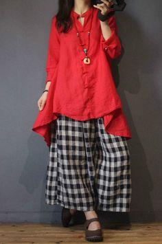 Romany Spanish Baby Girls/'tartan skirt  Pink silver satin bows Red