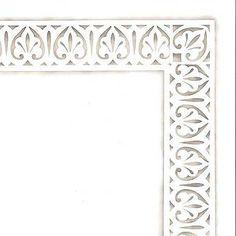 Furniture Stencils Fleur de Lis Molding
