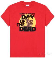 Day of the Dead - Zombie Head Tee - http://www.zombtees.com/day-dead-zombie-head-tee/