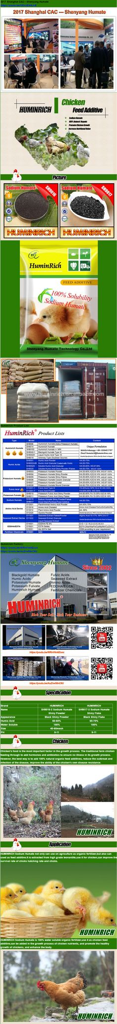 HuminRich SH9017 Sodium Humate Animal Feed Additive