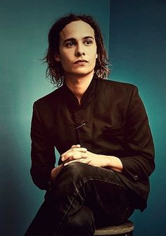 Frank Dillane. Gorgeous and real-life dad is Stannis Baratheon