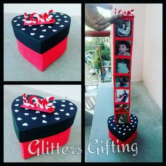 Ladder box#box of sweet memories#occasion of bday#collection of happiness#order completed#grab d chance and make some1 feel special#for enquiry message us