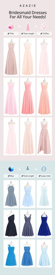 Dresses your bridesmaids will love! Shop over 200 styles, made with you in mind ❤️