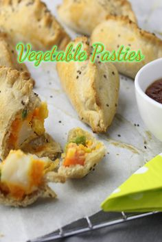 These vegetable pasties are literally packed with vegetables and a whole lot of goodness.  I must admit I was a little worried my kids wouldn't eat them but they did!  I mean, who wouldn't love something covered in home made pastry that's crunchy, tasty and full of goodness.