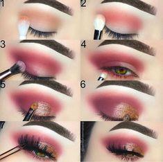 Eye Makeup Tips – How To Apply Eyeliner – Makeup Design Ideas Makeup 101, Glam Makeup, Makeup Goals, Makeup Inspo, Makeup Inspiration, Beauty Makeup, Hair Makeup, Huda Beauty, Eye Makeup Steps