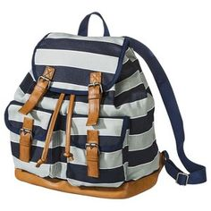 Mossimo Supply Co. Varsity Stripe Backpack - Blue/Gray the best backpack I found! From target!!