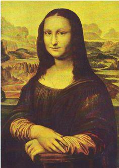 """Time period """"Mona Lisa"""" replica."""