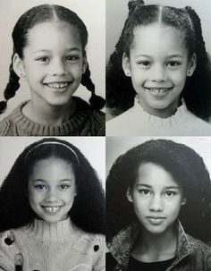 Celebrities As Children Before And After