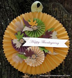 Thanksgiving Wreath by Canopy Crafts