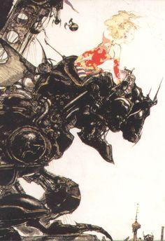 Yoshitaka Amano. Final Fantasy