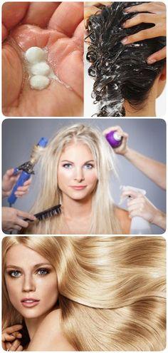 Всего 3 таблетки аспирина и волосы стали блестящими и густыми! Удивился даже мой парикмахер! - interesno.win Diy Hair Care, Hair Care Tips, Magic Hair, Hair Care Routine, Diy Hairstyles, Cosmetology, Hair Growth, Hair Goals, Hair Hacks