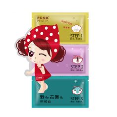 Leezo Nose Care Mask Set 3-step Remove Blackhead Deep Purifying Peel Mask * Read more reviews of the product by visiting the link on the image.