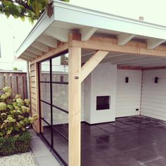 Pergola Ideas For Small Backyards Patio Design, Garden Design, Garden Room, Wooden Pergola, Outdoor Living, Home And Garden, House With Porch, Building A Porch, Porch Design