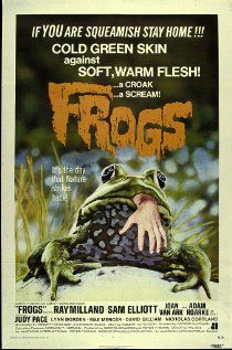 Frogs (1972) One sheet poster.