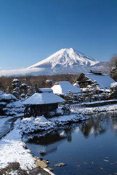 Snowscape Fuji