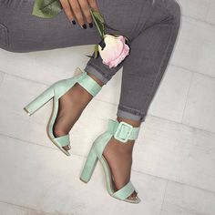 """4,121 Likes, 23 Comments - WWW.SIMMI.COM (@simmishoes) on Instagram: """"New pastel mint tones 15% off with FEELS Shoes: Heidi - £29.75 Shop: simmi.com #SIMMIGIRL"""""""