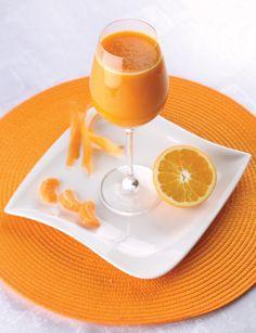 HEBKÁ POKOŽKA (odšťavíme: pomaranče, mandarínky, mrkvy, maslová tekvica)