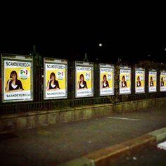 Qualcuno ha visto i miei manifesti in giro per Torino???? Ho messo anche il mio numero di cellulare!!! :) #scanderebech #torino2016 #noisiamotorino #orgogliotorino #pd #pdtorino #pd2016