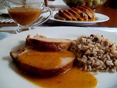 Lomo de Cerdo a la Nararanja, Cerdo en Salsa de Naranja.