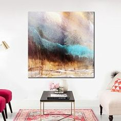Acrylic Painting/On Canvas Abstract/Wall Hanging Heavy/Textured Collectible Art/Cozy Home Living/Decor Acrylic Painting Large Canvas Art, Abstract Canvas, Canvas Wall Art, Wall Art Prints, Texture Painting, Cozy House, Wall Art Decor, Original Artwork, Living Room Decor