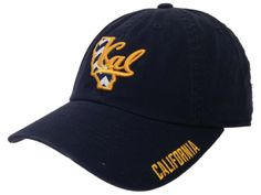 California Golden Bears TOW WOMEN Navy Chevron Crew State Adjustable Hat Cap -- Awesome products selected by Anna Churchill
