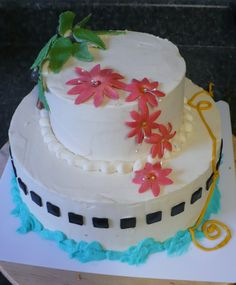 Cruise bridal shower cake