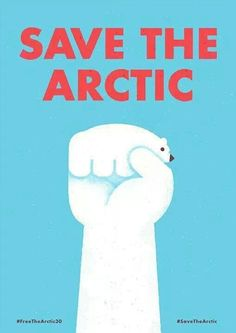 Save the #Arctic......love this!