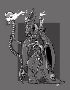 Necromancer by cwalton73.deviantart.com on @DeviantArt