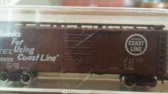 Atlas #3401 40' box train car Atlantic & CL n-scale #Atlas