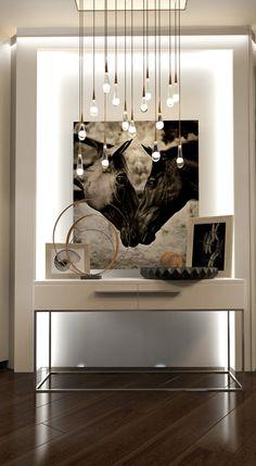ЖК PecherskSky - дизайн холла от студии ZANKO zanko-design.pro Luxury Interior, Luxury Furniture, Home Interior Design, Furniture Design, Interior Decorating, Entrance Decor, Entryway Decor, Foyer Design, House Design